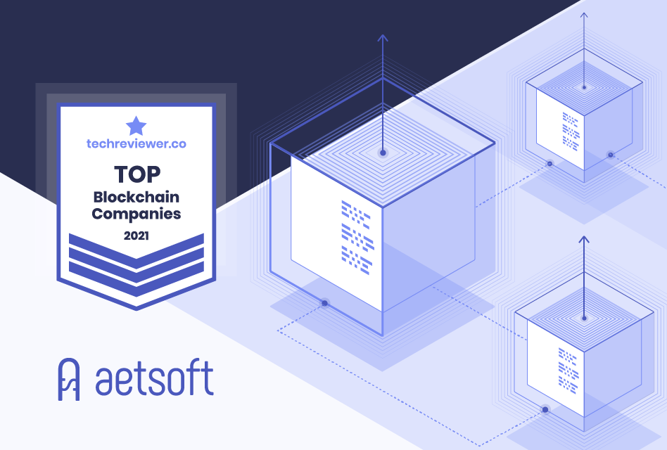 Aetsoft has Hit the Top Blockchain Development Company in 2021 Rating by Techreviewer